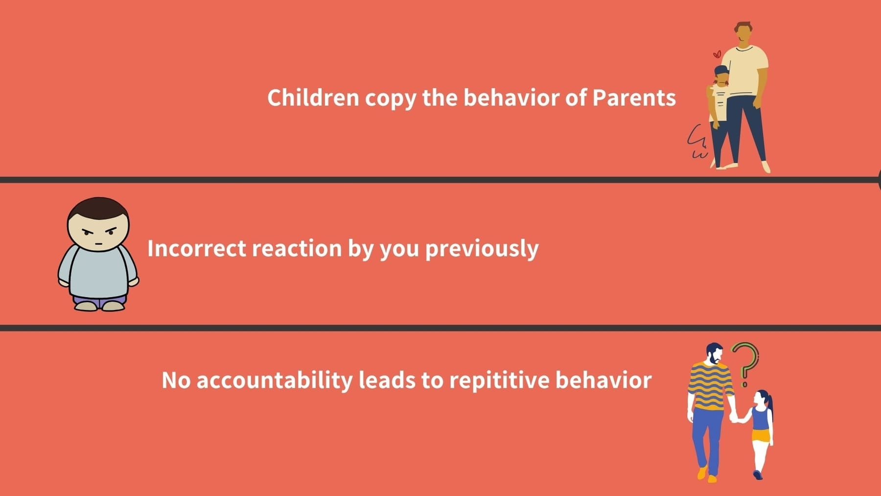 Reasons why your child has a controlling behavior